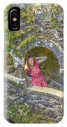 Woman Tourist In Sintra IPhone Case