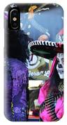 2 Women Day Of The Dead  IPhone Case