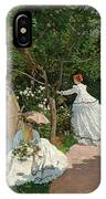 Women In The Garden IPhone Case