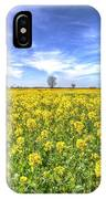 Yellow Fields Of Summer IPhone Case