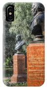 Yury Bashkin Garden Peterburg IPhone Case
