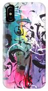 Abstract Calligraphy IPhone Case