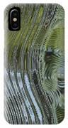 Alien Fluid Metal IPhone Case