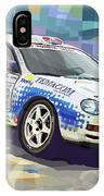 2002 Slovnaft Valasska Rally Toyota Celica Gt Four Liska Jugas  IPhone X Case
