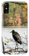 2006-heron Fall2009 IPhone Case