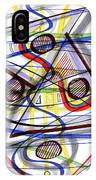 2007 Abstract Drawing 1 IPhone Case