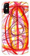 2007 Abstract Drawing 6 IPhone Case