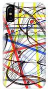 2007 Abstract Drawing 7 IPhone Case