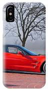 2009 Chevrolet Corvette Zr 1 IPhone Case