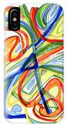 2010 Abstract Drawing Eight IPhone Case