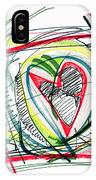 2010 Abstract Drawing Eighteen IPhone Case