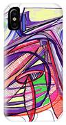 2010 Abstract Drawing Eleven IPhone Case