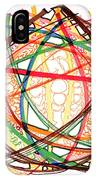 2010 Abstract Drawing Fifteen IPhone Case
