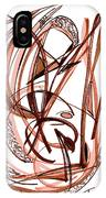 2010 Abstract Drawing Five IPhone Case