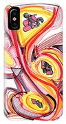 2010 Abstract Drawing Nine IPhone Case