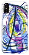 2010 Abstract Drawing Nineteen IPhone Case