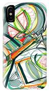 2010 Abstract Drawing Seventeen IPhone Case