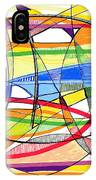 2010 Abstract Drawing Sixteen IPhone Case