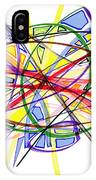 2010 Abstract Drawing Twelve IPhone Case