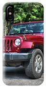 2011 Jeep Wrangler IPhone Case