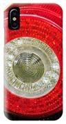 2012 Ferrari 458 Spider Brake Light IPhone Case