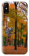 2015 Fall Colors - Washington Crossing State Park-1 IPhone Case