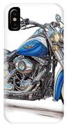 2015 Harley Softail Deluxe IPhone Case
