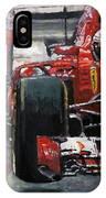 2015 Hungary Gp Ferrari Sf15t Vettel Winner IPhone Case