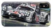 2015 Le Mans 24 Lmp1 Winner Porsche 919 Hybrid Bamber Tandy Hulkenberg IPhone X Case