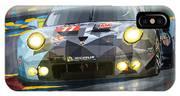 2015 Le Mans Gte-am Porsche 911 Rsr IPhone X Case