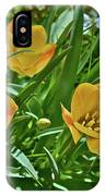2016 Early May Meadow Garden Bright Gem Batalin Tulip IPhone Case