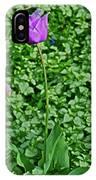 2016 Mid May  Exotic Purple Tulip IPhone Case