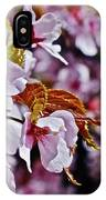 2017 Earthday Olbrich Gardens Fuji Cherry 1 IPhone Case