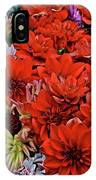 2017 Mid October Monona Farmers' Market Buckets Of Blossoms 1 IPhone Case
