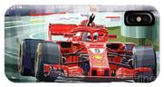 2018 Australian Gp Ferrari Sf71h Vettel Winner  IPhone X Case