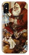 American Christmas Card IPhone Case