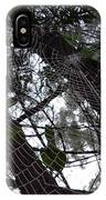 Australia - Spider Web High In The Tree IPhone Case