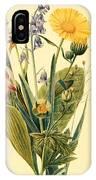 Vintage Botanical Illustration IPhone Case