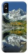 210426 Maroon Bells Reflect  IPhone Case
