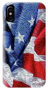 American Flag 40 IPhone Case