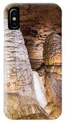 Onondaga Cave Formations IPhone Case