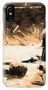Saga Star Wars Poster IPhone Case