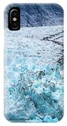 Sawyer Glacier At Tracy Arm Fjord In Alaska Panhandle IPhone Case