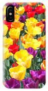 Amsterdam Tulips. IPhone Case