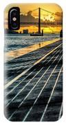 25 De Abril Bridge In Lisbon. IPhone Case