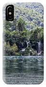 Plitvice Lakes National Park Croatia IPhone Case