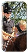 Manito Equestrian Center Benefit Horse Show IPhone Case