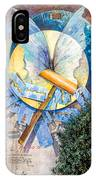 Mural Painting In Saludecio IPhone Case