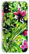 The Divine Flower IPhone Case