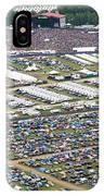Bonnaroo Music Festival Aerial Photography IPhone Case